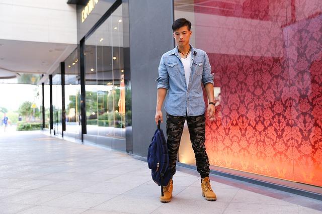 jeansowe koszule